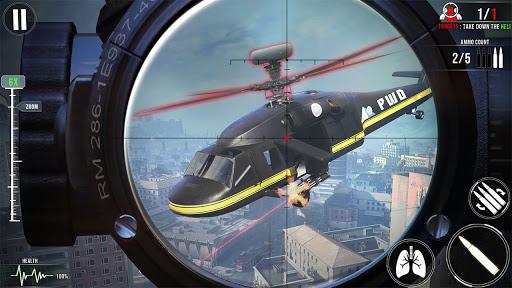 नया निशानची बंदूक खेल 2020 - शूटिंग खेल स्क्रीनशॉट 3