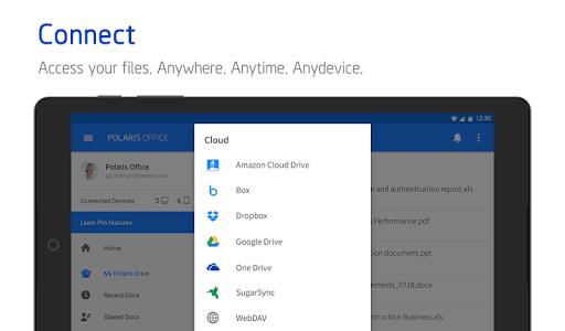 Polaris Office - Free Docs, Sheets, Slides   PDF screenshot 15
