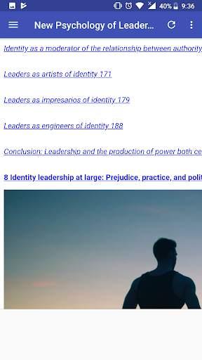 New Psychology of Leadership screenshot 5