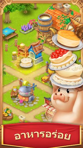 หมู่บ้านฟาร์ม-Village and Farm screenshot 4