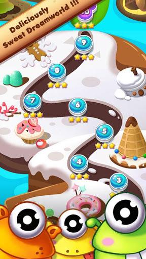 Cookie Mania - Match-3 Sweet Game 5 تصوير الشاشة