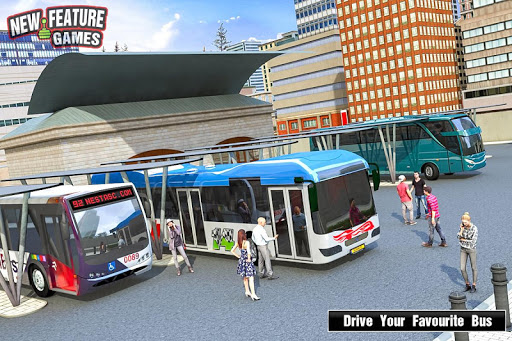 Super Bus Arena: Modern Bus Coach Simulator 2020 screenshot 4