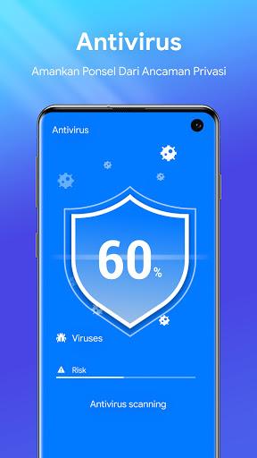One Booster - Antivirus, Booster, Pembersih Ponsel screenshot 3