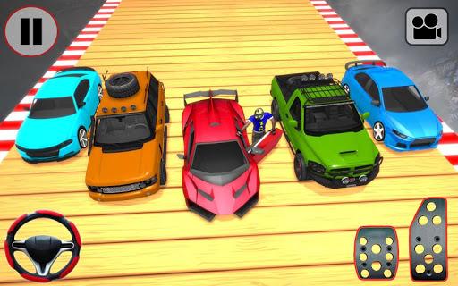 Car Stunt Ramp Race - Impossible Stunt Games screenshot 4