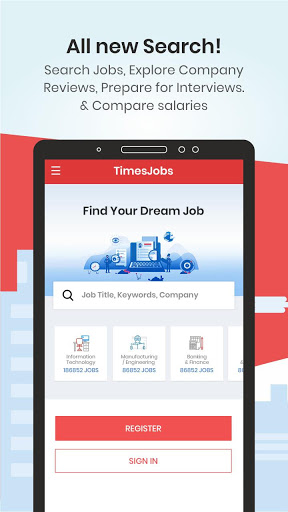 TimesJobs - Job Search and Career Opportunities screenshot 1