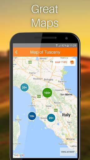 Tuscany Travel Guide screenshot 2