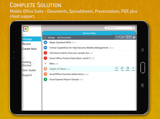 SmartOffice - View & Edit MS Office files & PDFs screenshot 9