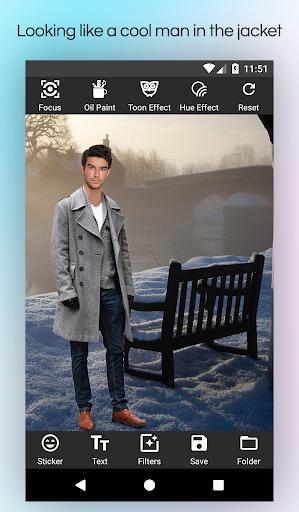 Men Winter Jacket Suit screenshot 5