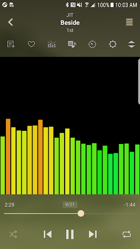 jetAudio HD Music Player 4 تصوير الشاشة