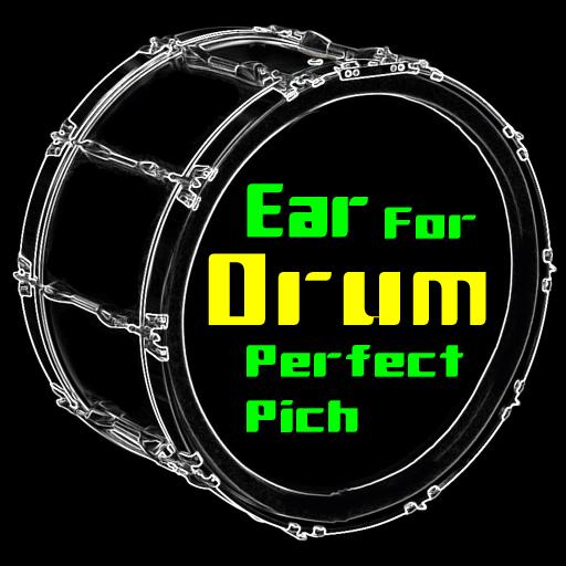 Drums Perfect Pitch - Rhythm sound practice game. أيقونة