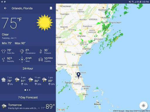 NOAA Weather Radar Live & Alerts – Clime screenshot 16