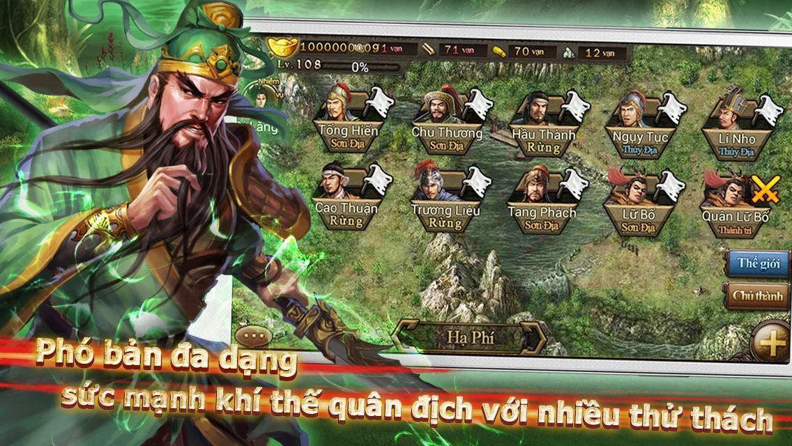 Bá Chủ Tam Quốc – CTXĐ screenshot 23
