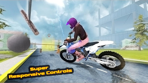 Moto Bike Attack Racing screenshot 2