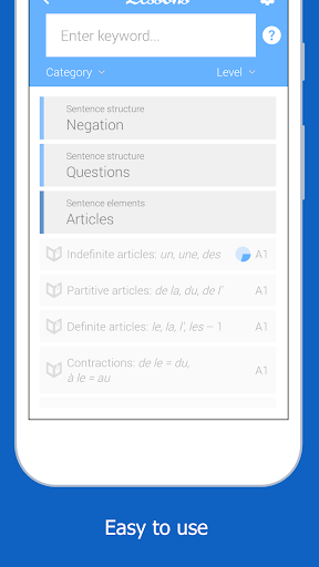 Dr French, French grammar screenshot 4