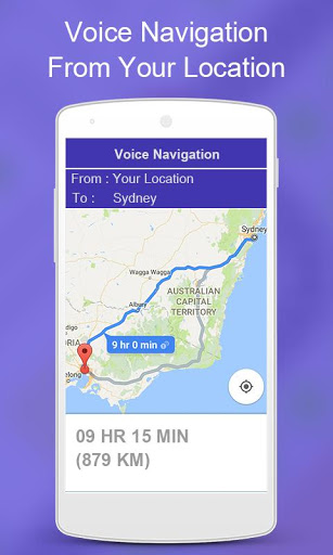 Mobile Number Location Finder - Voice Navigation screenshot 5