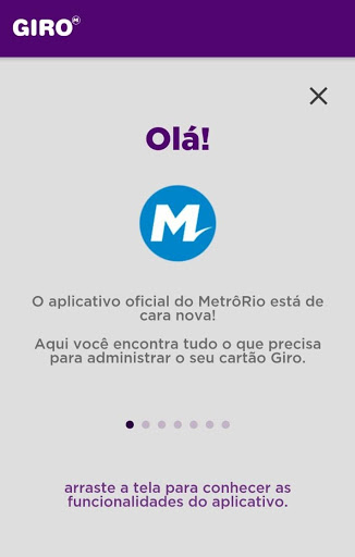 Giro MetrôRio screenshot 1