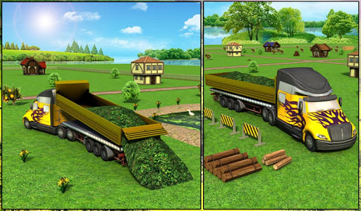 Farm Truck : Silage Game screenshot 9