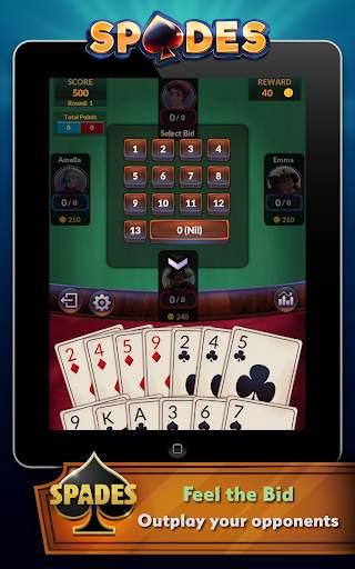 Spades - Offline Free Card Games screenshot 9