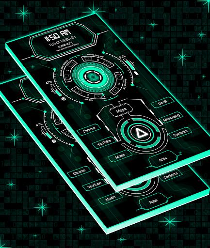 Circuit Launcher 2 - Next Generation Theme 2020 screenshot 3