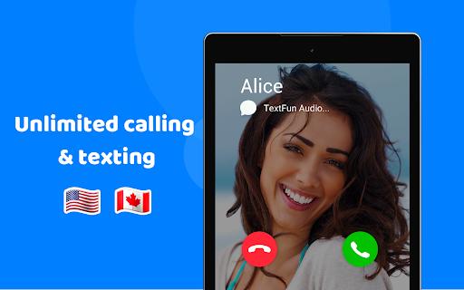 TextFun : Free Texting & Calling screenshot 7