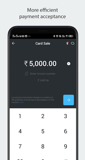 Mswipe Merchant App screenshot 1