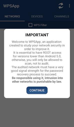 WPSApp screenshot 2