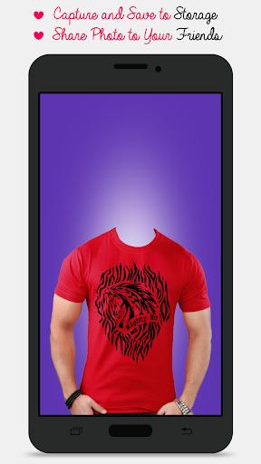 Man T-shirt Photo Maker screenshot 2