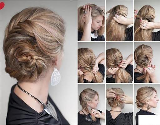 خطوة خطوة الشعر (أنثى) 5 تصوير الشاشة