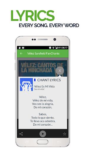 FanChants: Velez Fans Songs & Chants 3 تصوير الشاشة