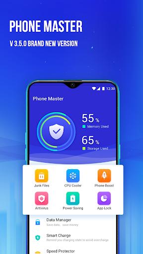 Phone Master –Junk cleaner master, Battery Cooler screenshot 1