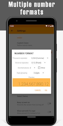 VAT Calculator 6 تصوير الشاشة