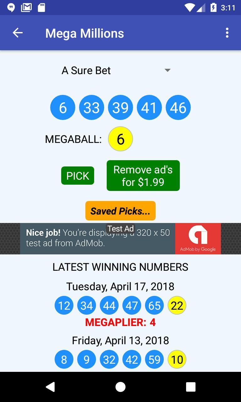 U-Pick Lotto screenshot 3