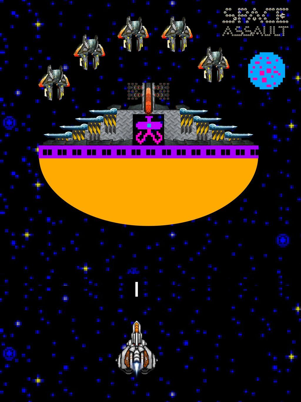 Space Assault: Space shooter 6 تصوير الشاشة