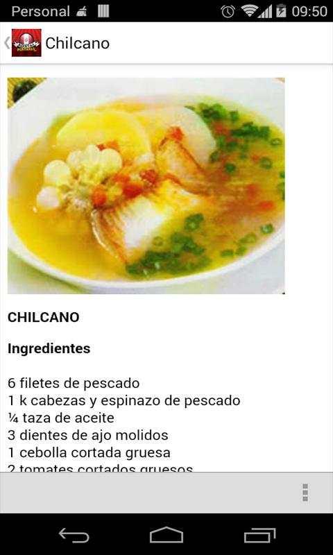 Recetas Peruanas 2.0 screenshot 3