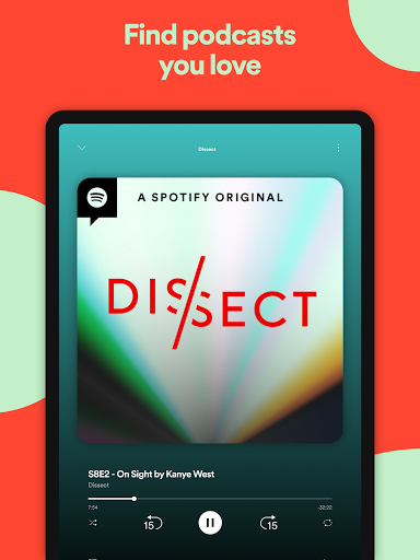 Spotify: Listen to podcasts & find music you love screenshot 12