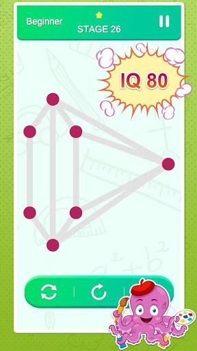 One Stroke Drawing Puzzle 3 تصوير الشاشة