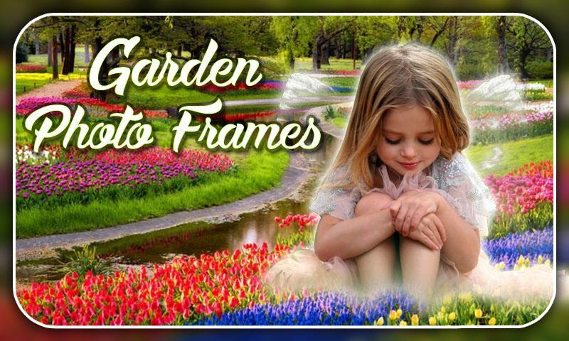 Garden Photo Frames Editor 2018 screenshot 3