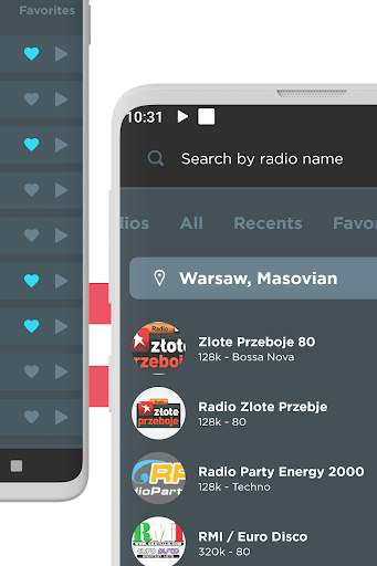 Radio Poland: Free FM radio, Internet radio screenshot 4
