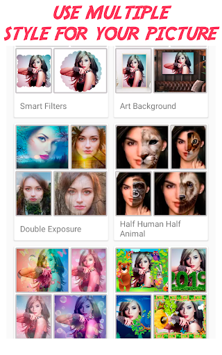 Photo Frames Lab Editor: effects, filter & Collage screenshot 7