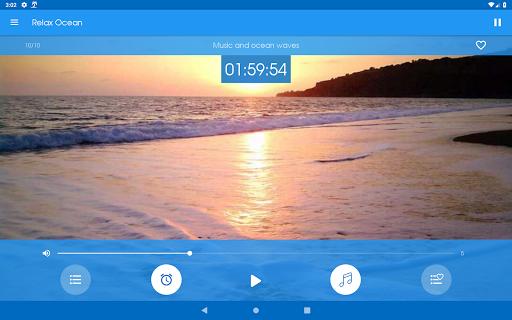 Relax Ocean - Nature sounds: sleep & meditation screenshot 12