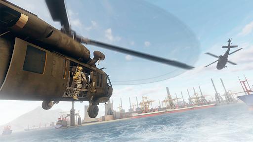 سلاح الجو مطلق النار 3D -ألعاب طائرات الهليكوبتر 1 تصوير الشاشة