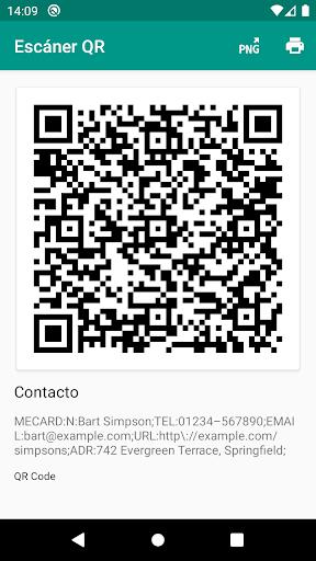 Lector de códigos QR y barras (español) screenshot 7