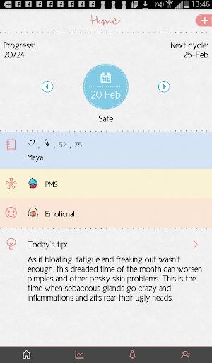 Maya - Period, Fertility, Ovulation & Pregnancy screenshot 8