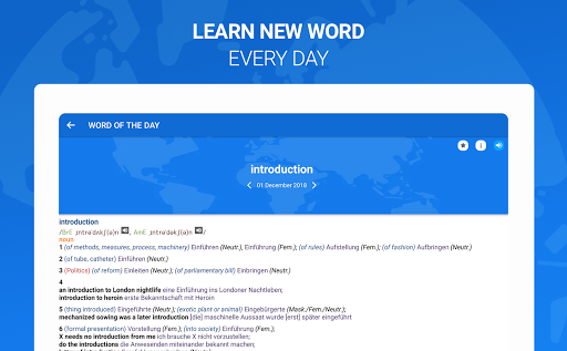 Оxford Dictionary with Translator 15 تصوير الشاشة