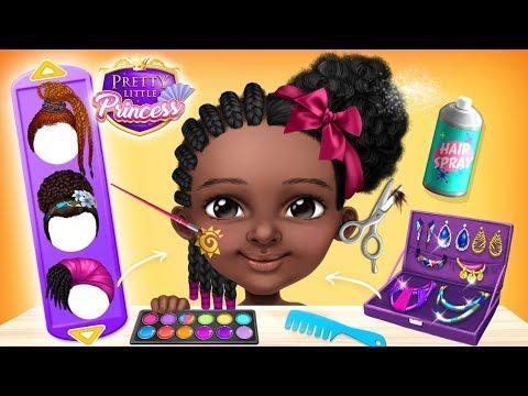 Pretty Little Princess - Dress Up, Hair & Makeup 1 تصوير الشاشة