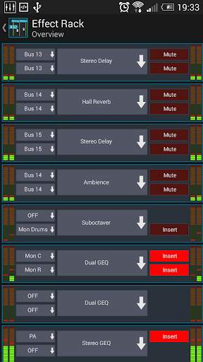 Mixing Station XM32 screenshot 3