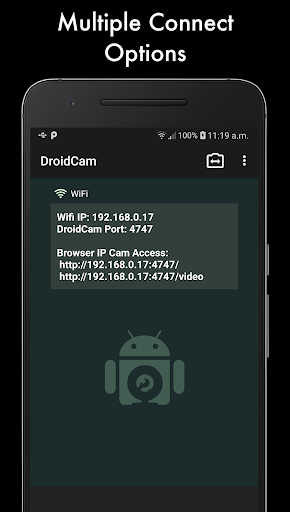 DroidCam screenshot 2