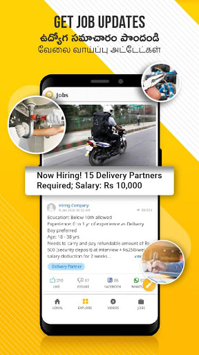 Lokal App - Local Updates, Jobs and Video content screenshot 4