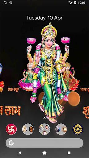 4D Lakshmi Live Wallpaper 8 تصوير الشاشة