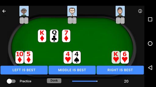Poker Trainer - Poker Training Exercises 5 تصوير الشاشة